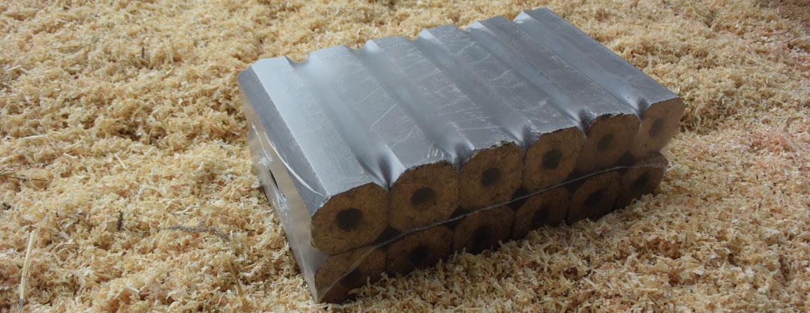 Výroba dřevěných briket
